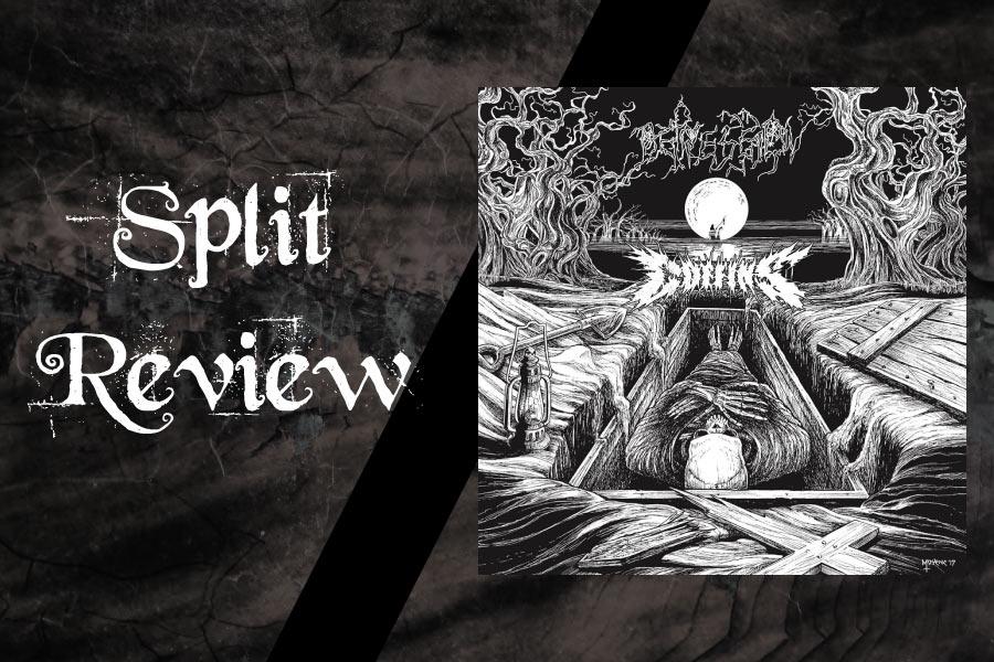 Album Review Depression Coffins Split